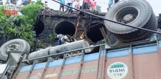 four injured in lorry accident | newsfront.co
