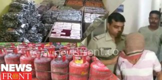 rescued cylinder fireworks at berhampore   newsfront.co