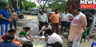 service day celebration at medinipur | newsfront.co