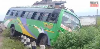 passenger safe from road accident | newsfront.co