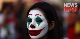 Lebanon hitted and hundred on people makeup joker | newsfront.co