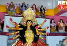 excitation surrounded Durga puja | newsfront.co