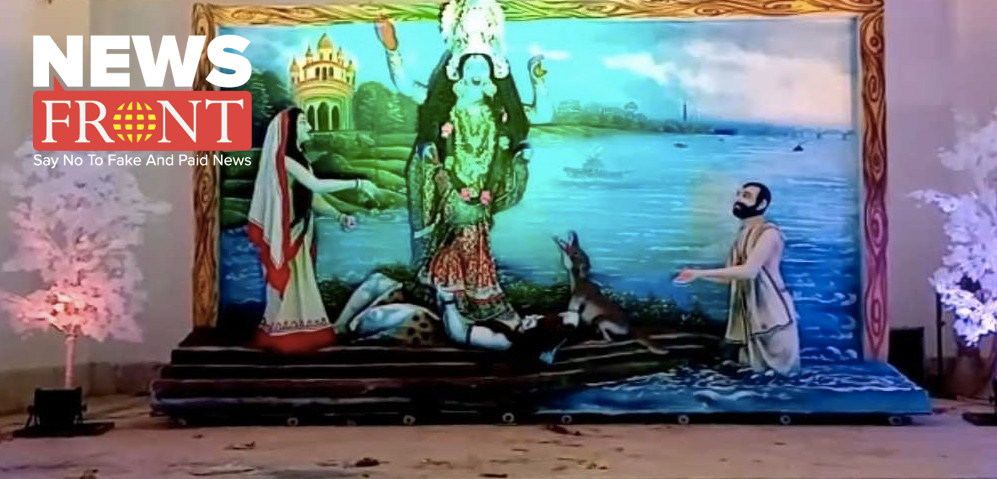 excitement for Midnapore Police line Puja