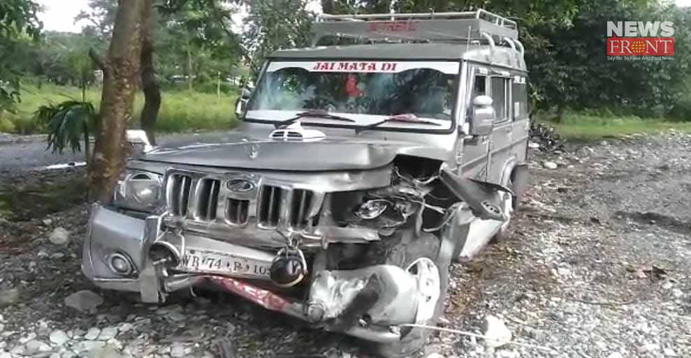 six injured in road accident in birpara | newsfront.co