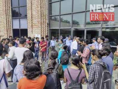 the notice of Jawaharlal Nehru University | newsfront.co