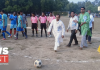Football tournament on Kali puja occasion in Ramnagar