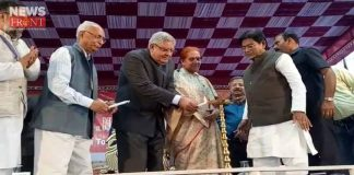 The governor in the college of farakka | newsfront.co