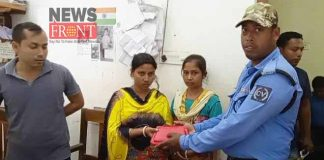 civic police helps to get back housewife bag   newsfront.co