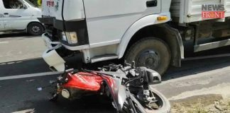 the unknown bike rider dead in lorry accident | newsfront.co