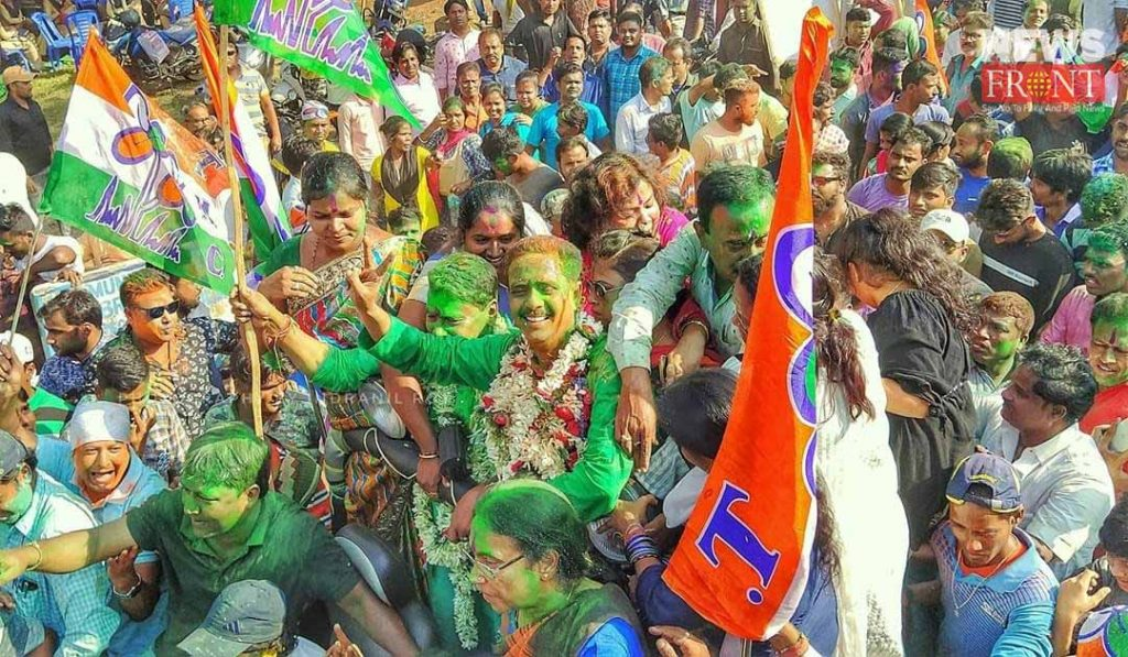 tmc won the election in kharagpur | newsfront.co