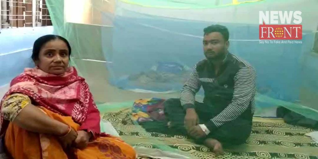 two boys affected by dengue | newsfront.co