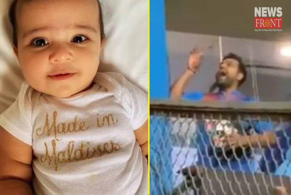 dressing room video of rohit sharma is viral   newsfront.co