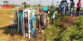 six-injured-in-road-accident at patashpur | newsfront.co
