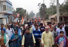 the protest rally of tmc about nrc and cab | newsfront.co