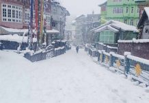 the snowfall in sikkim | newsfront.co