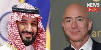 amazon ceo jeff bezos phone was hacked by saudi araud princes   newsfront.co