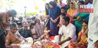 hindu couple get married in masjid | newsfront.co