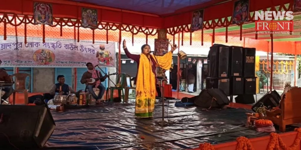 historical baul festival in south dinajpur | newsfront.co