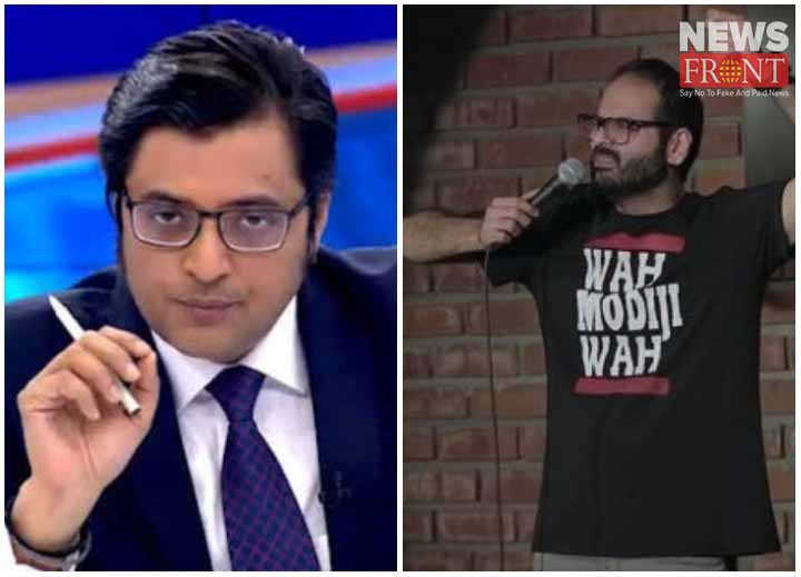 indigo bans around six months for heckling arnab goswami on flight   newsfront.co
