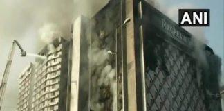 massive fire in gujarat surat textile market | newsfront.co