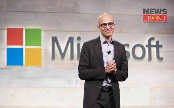 satya nadella | newsfront.co