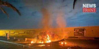 six dead in baghdad army camp blast   newsfront.co