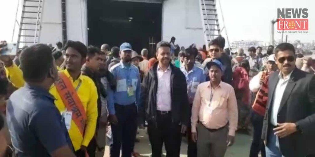 west bengal minister firhad hakim visit to gangasagar fair | newsfront.co