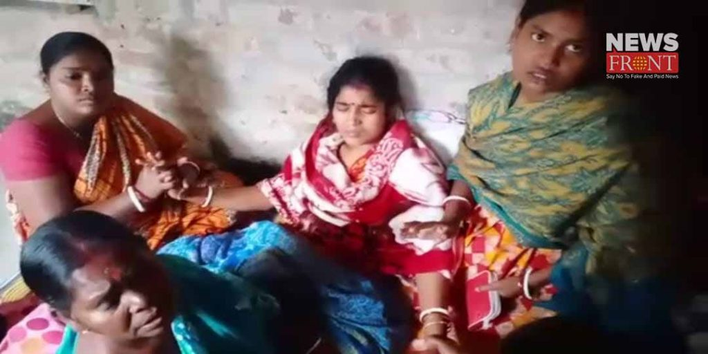 beat up pregnant women and mother in law to support bjp | newsfront.co