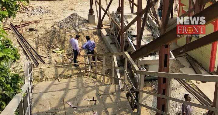 before dol utsav escalator start in nabadwip | newsfront.co