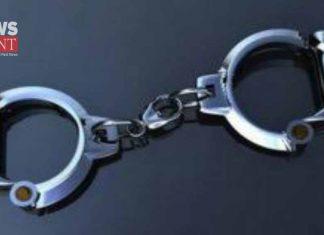 bjp leader arrested to beat up panchayat member | newsfront.co