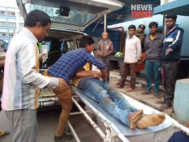 madhyamik candidate dead by bike accident | newsfront.co