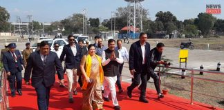 minister of state visit to bagdogra | newsfront.co