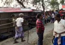 passenger bus accident in suti | newsfront.co