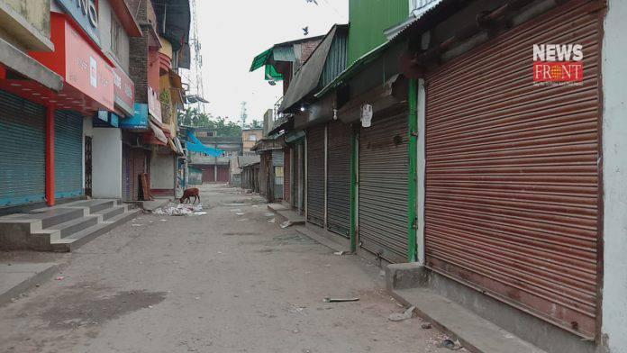 Raiganj market lockdown   newsfront.co