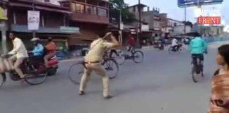 alipurduar police beat up to public | newsfront.co