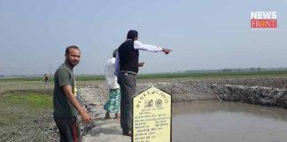 assistant pradhan stolen pond in kasol   newsfront.co