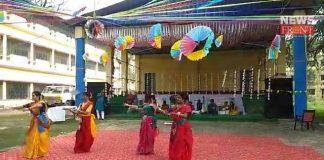 college students celebrate basanta utsav in cooch behar | newsfront.co