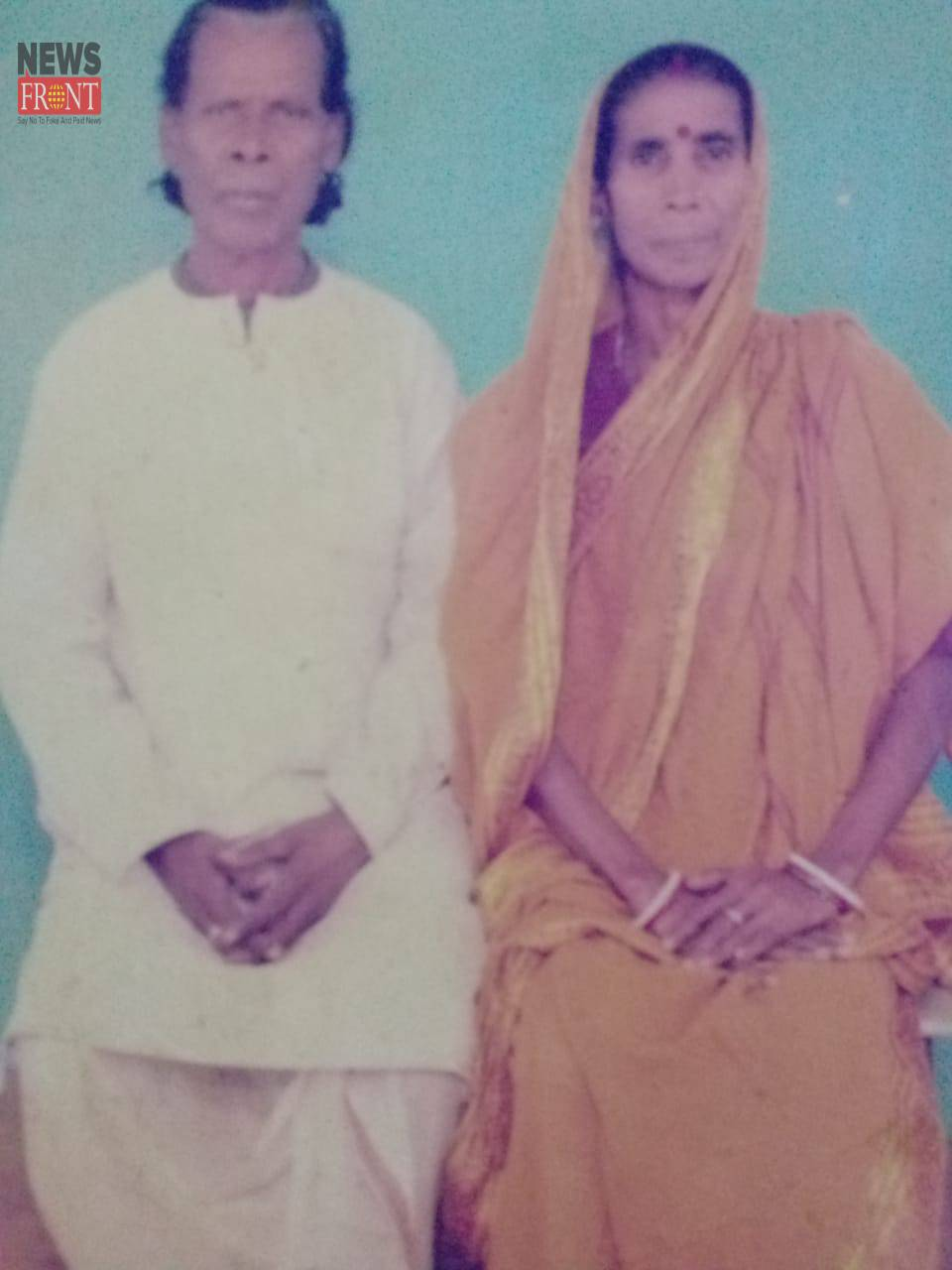 Ratan Kahar and his wife   newsfront.co