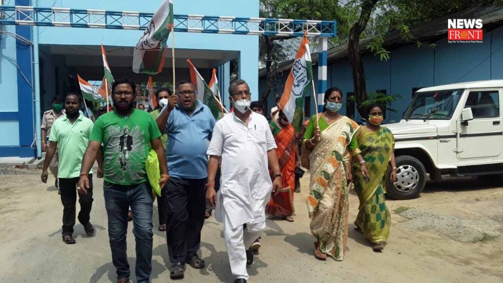 congress submit deputation to food department of south dinajpur | newsfront.co