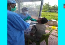 doctor health check up to kaliachak police officer | newsfront.co