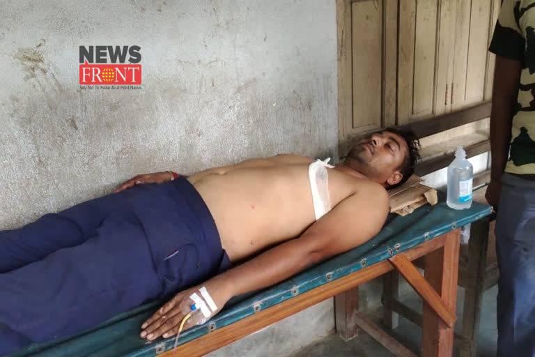 Injured police officer | newsfront.co