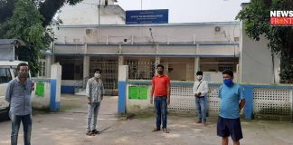 villagers demanding a new hospital in islampur | newsfront.co