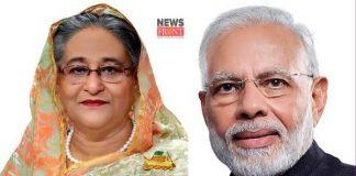 Sekh Hasina and Modi | newsfront.co