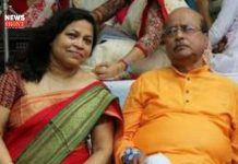 Sadhan Pande and his wife | newsfront.co