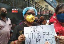 protest in kolkata | newsfront.co