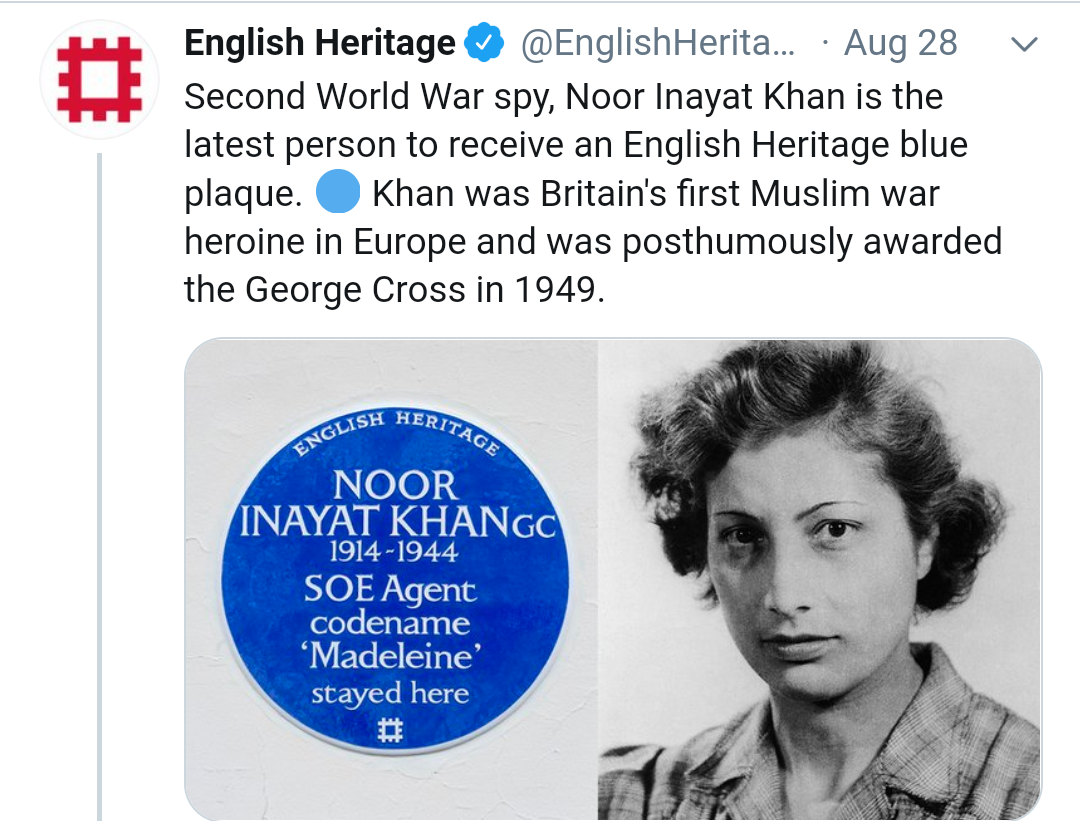 Noor Inayat Khan | newsfront.co
