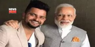 Raina with PM Modi | newsfront.co