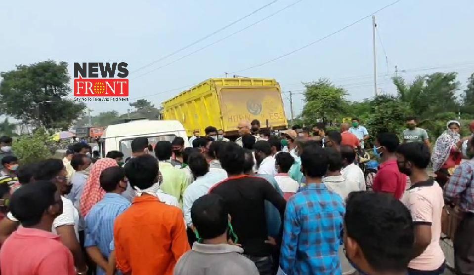 Road Blocked   newsfront.co