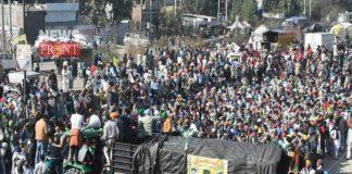 Farmers protest in delhi | newsfront.co