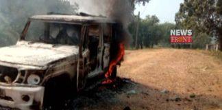 Car burn | newsfront.co